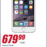 Offerte Trony: iPhone 6 16 GB € 679,99